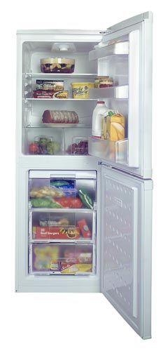 Beko CDA539FW - 238 litre capacity fridge & freezer